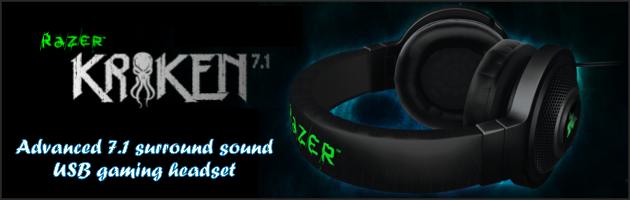 Kraken 7.1 USB – rzut oka na popularne słuchawki marki Razer