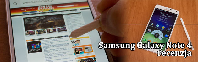 Samsung Galaxy Note 4 - test