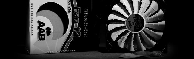 AAB Black Jet Fan 12 - pierwsze wrażenia, wydajność