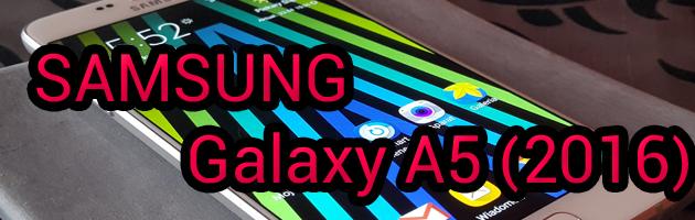 Samsung Galaxy A5 2016 - średniak w flagowym opakowaniu