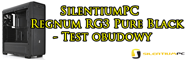 SilentiumPC Regnum RG3 Pure Black - Test obudowy
