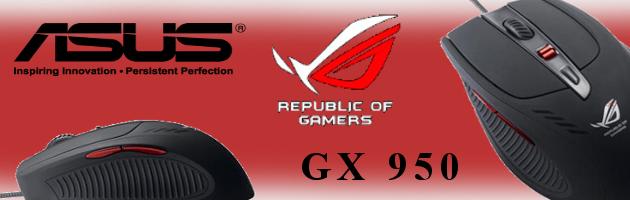 Recenzja myszki ASUS ROG GX950