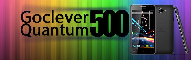 Goclever Quantum 500 - wysoka jakość za 400 zł?