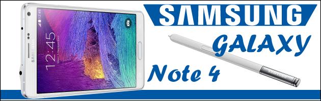 GALAXY Note 4, czyli topowy phablet marki Samsung