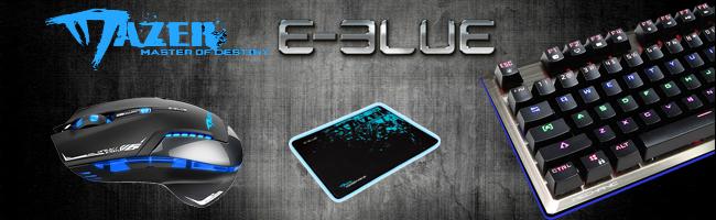 Mechaniczna klawiatura od E-Blue i nie tylko...
