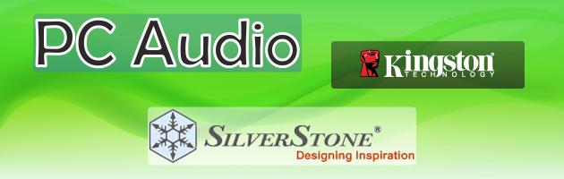 PC Audio - ciekawy sprzęt marek Kingston i SilverStone