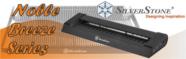 SilverStone Noble Breeze Series - schłodź swojego laptopa!