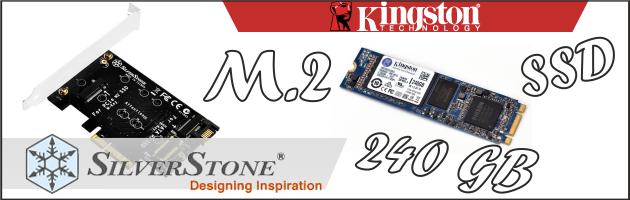 Kingston & SilverStone, czyli sposób na dysk M.2 SSD