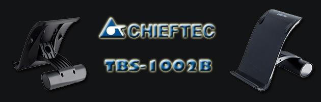 Chieftec TBS-1002B - recenzja podstawki na tablet