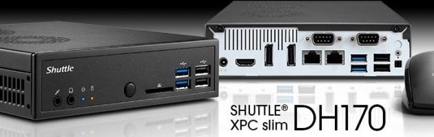 Shuttle XPC Slim DH170 - Test