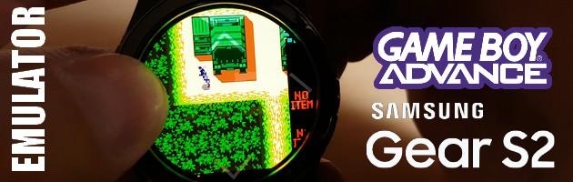 Emulator GameBoya na smartwatchu Samsung Gear S2