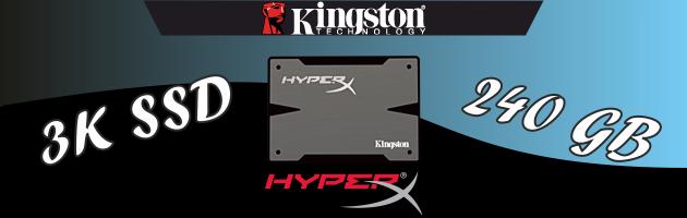 Kingston HyperX 3K 240GB - test dysku SSD z rodziny HyperX