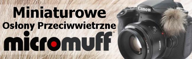 Recenzja miniaturowych osłon przeciwwietrznych firmy Micromuff
