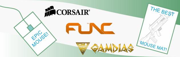 Corsair, Func, a może Gamdias? Przegląd trzech kompletów dla graczy!