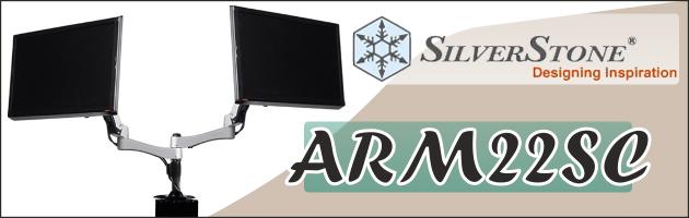SilverStone ARM22SC - gdy standardowa stopa monitora to za mało