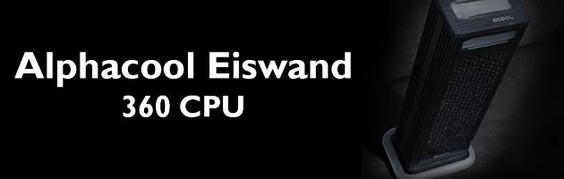 Alphacool Eiswand 360 CPU - test zewnętrznego zestawu LC