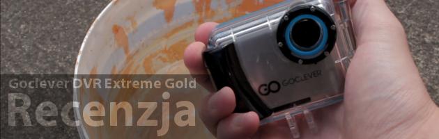 Goclever DVR Extreme Gold - Recenzja niedrogiej kamery sportowej