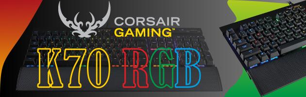 Corsair Gaming K70 RGB, czyli mechaniczna klawiatura dla wymagających graczy i nie tylko