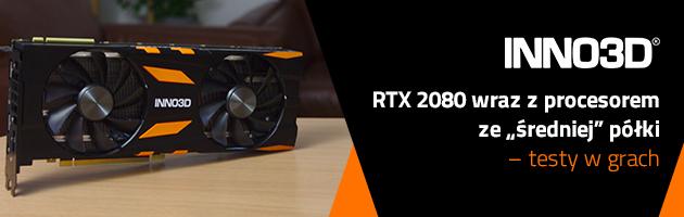 """Niecodzienne połączenie - RTX 2080 wraz z procesorem ze """"średniej"""" półki – testy w grach"""