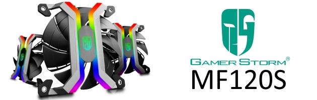 Deepcool MF120S – wentylatory bezramkowe RGB