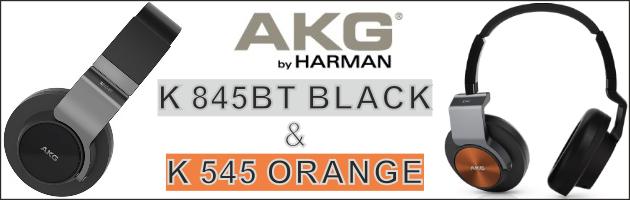 PC Audio - AKG K 545 i K 845BT, czyli nowocześniejsze 550-tki!