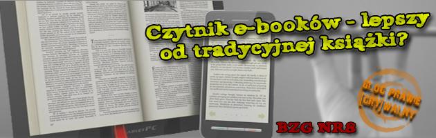 [Czytniki e-booków - lepsze od tradycyjnej książki?] - [BZG]#8