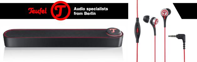 Teufel Move & BT Bamster – sprzęt audio dla urządzeń mobilnych i nie tylko!
