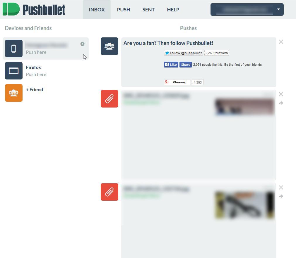 Pushbullet - szybka wymiana plików na linii PC-Android] - [BZG]#5